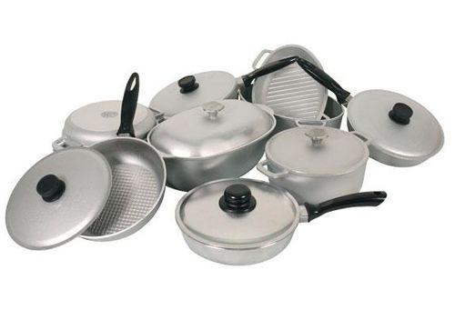Алюминиевая посуда: вредна или полезна?