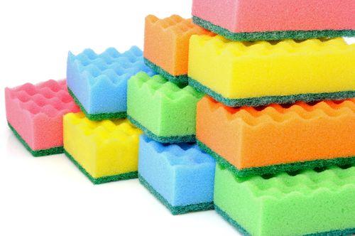 Выбираем мочалки и губки  для мытья посуды