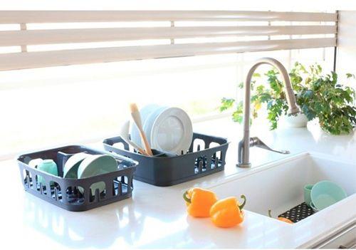 Настольная сушилка для посуды: особенности и разновидности